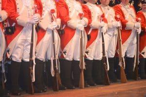 Rote Funken Regimentsexerzieren