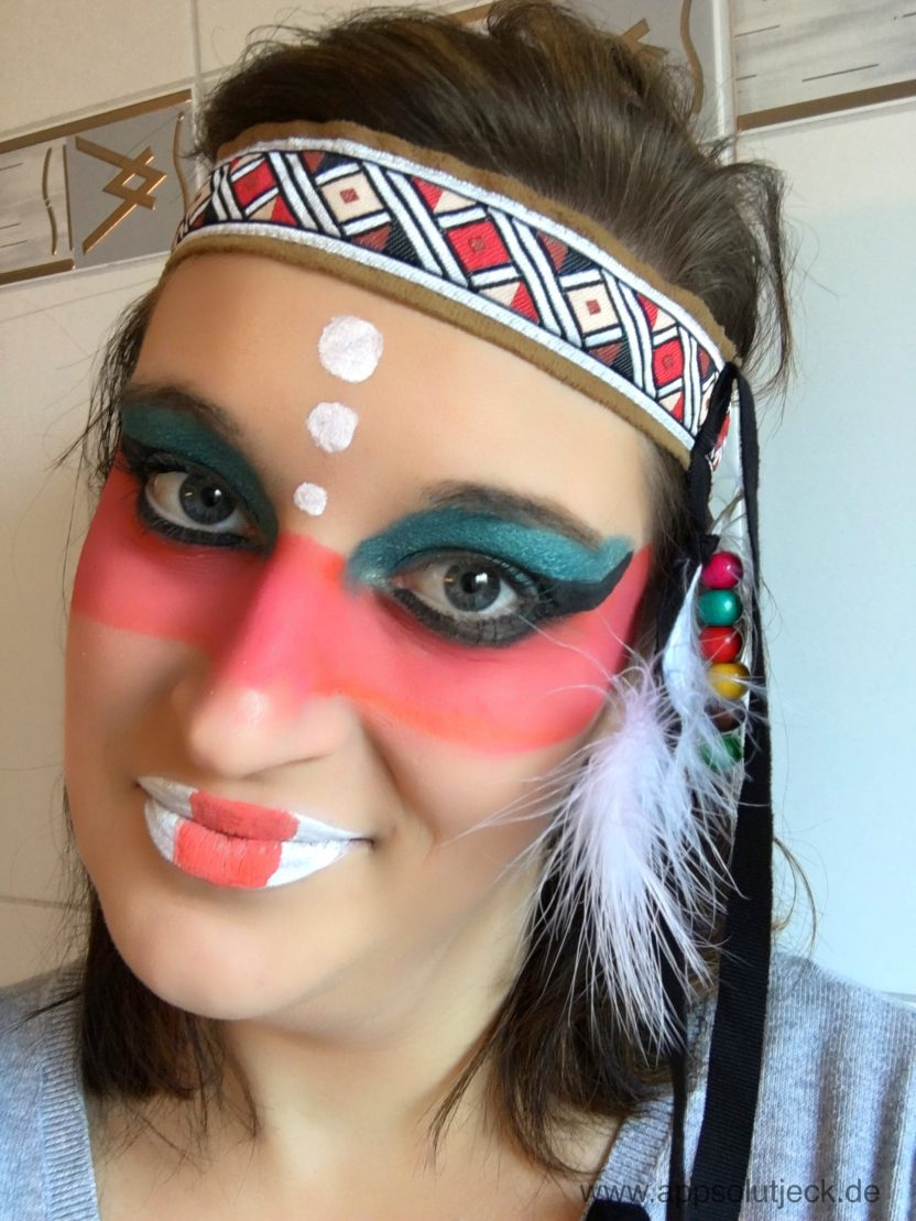 Indianer Make Up