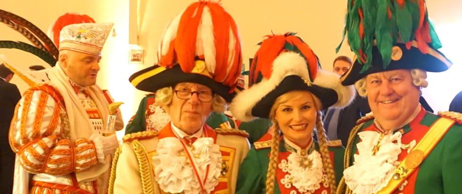 Prinz Stefan Kölner Karneval 2017 Tanzpaar Funkemariechen Dreigestirn Stefanie Scharfe