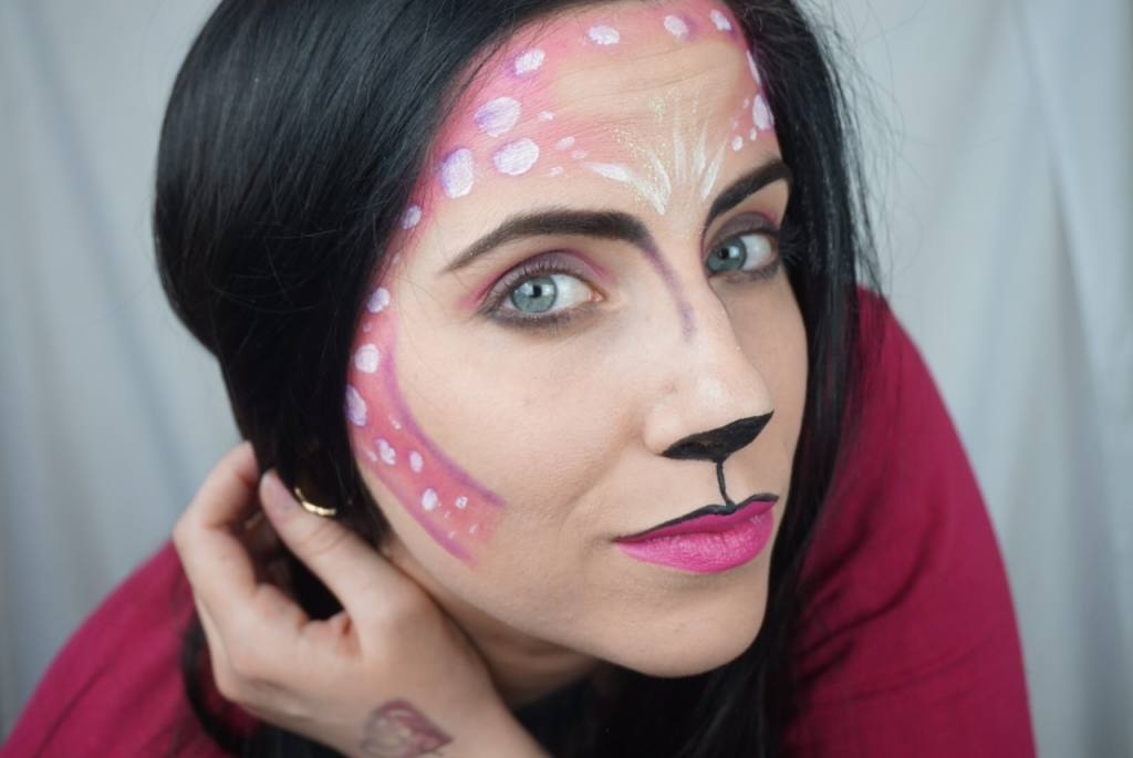 Bambi, Pink Bambi, Youtube, Schminken, Tipp, Karneval elfter elfer