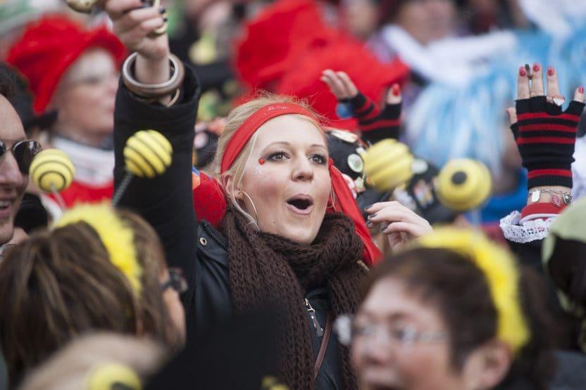 Straßenkarneval , Rosenmontagszug