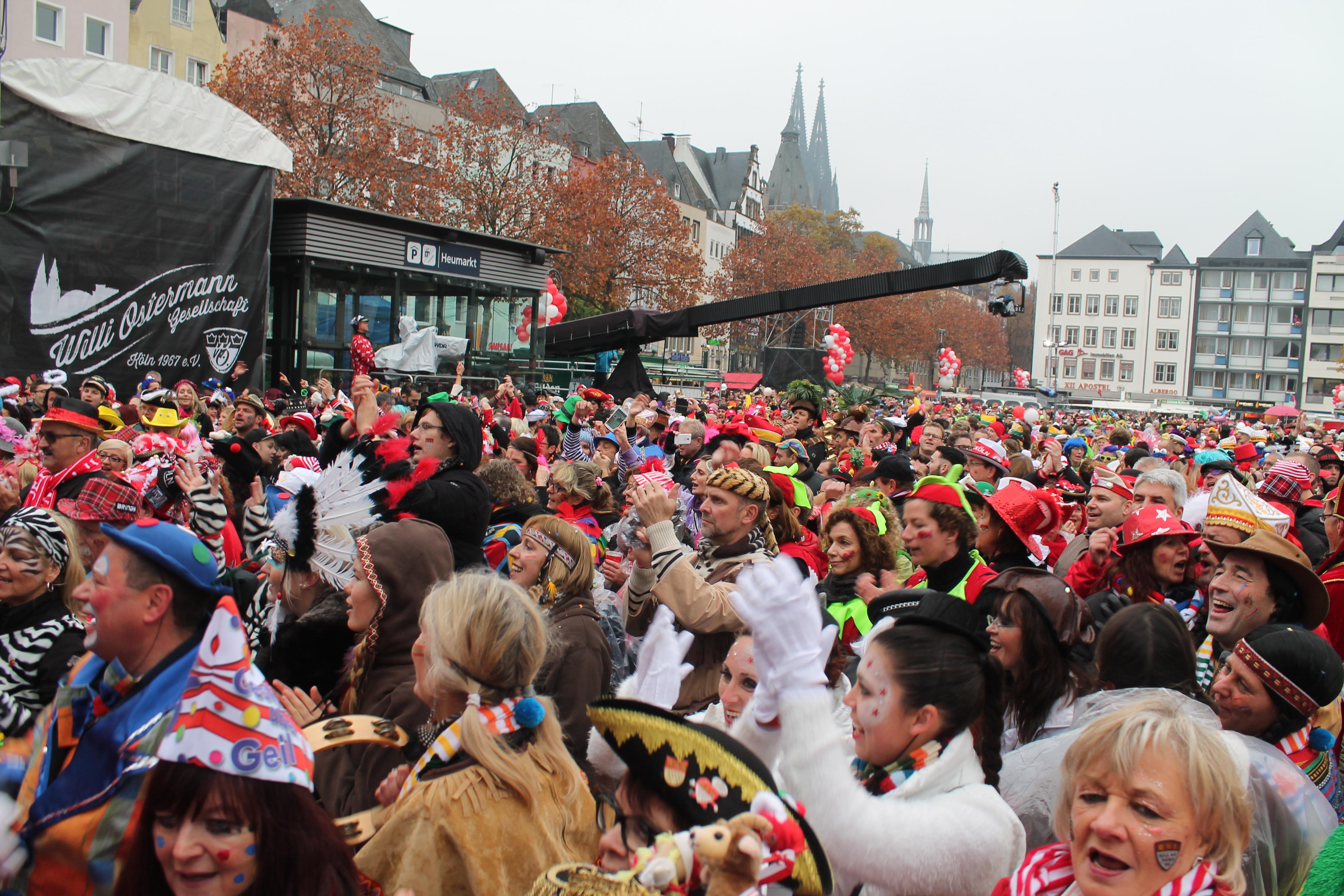 Sessionseröffnung des Kölner Karneval