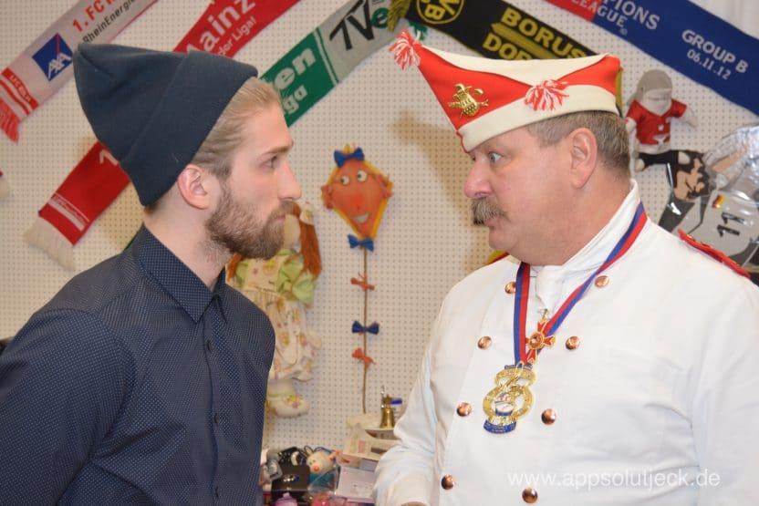 Traditionskorps, Rote Funken, Kölner Karneval 2017, Köln Karneval , Corps a la Küch
