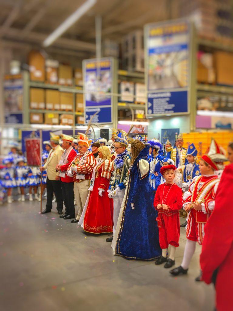 Prinzenwiegen in der Metro Neuss