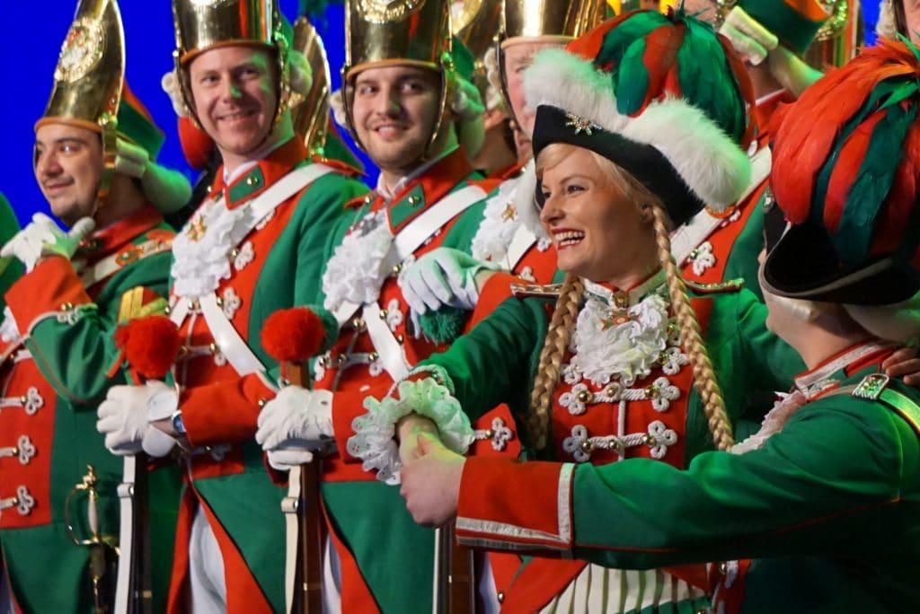 Altstädter Köln Traditionskorps Tanzpaar Stefanie Scharfe Marie