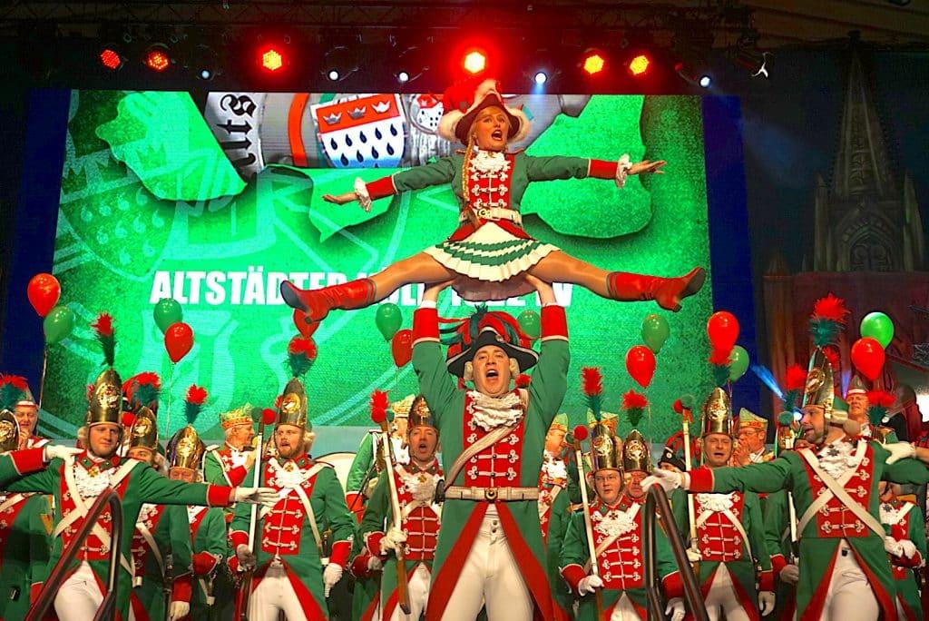 Tanzpaar Altstädter Karneval 2017 Traditionskorps Stefanie und Jens Scharfe Gürzenich