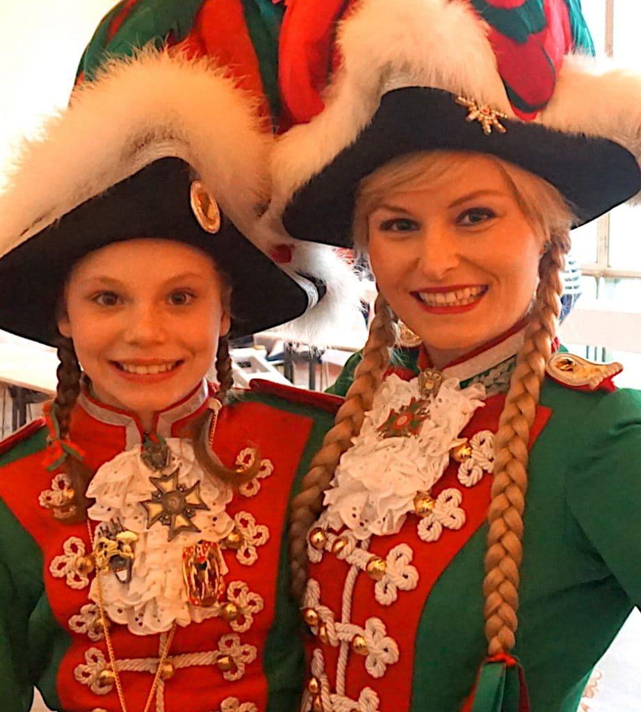 Stefanie Scharfe Funkemariechen Karneval 2017 Traditionskorps