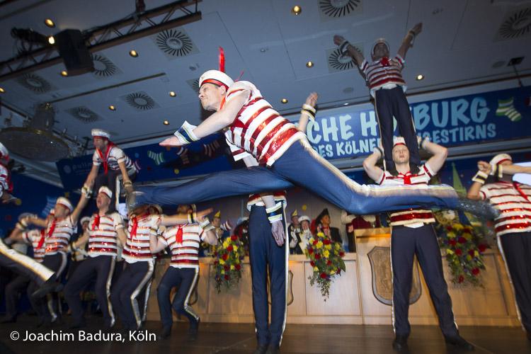 Artisten, Tanzgruppe, Köln Karneval, Kölner Karneval 2017, Stattgarde Ahoi