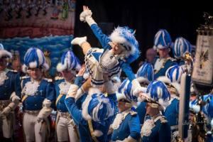 Tanzpaar der Blauen Funken