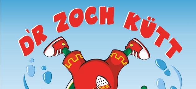 Schild dr Zoch kütt
