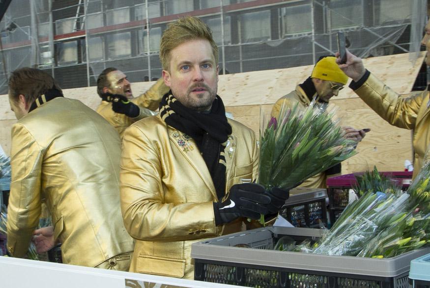 Rosenmontagszug 2019 Goldene Jungs