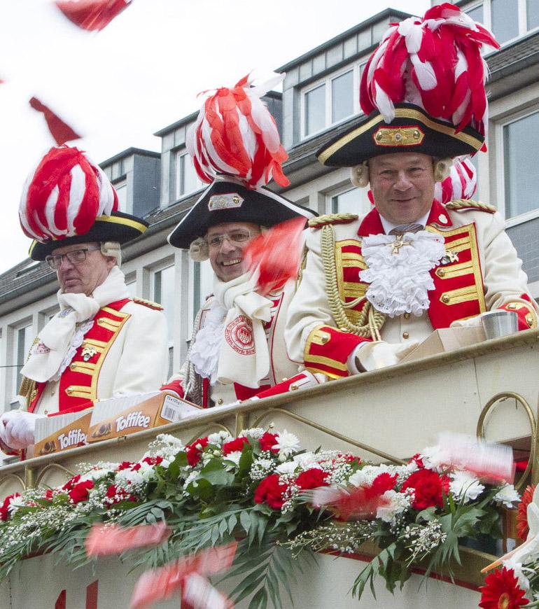 Rosenmontagszug 2019- Prinzengarde