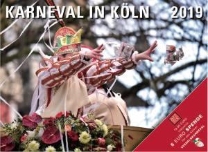 "Wandkalender ""Karneval in Köln 2019"""