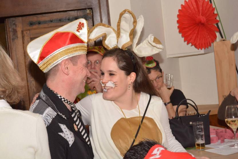 Kneipensitzung Selvs jemaat der KKG Fidele Zunftbrüder im Haus Schnackertz