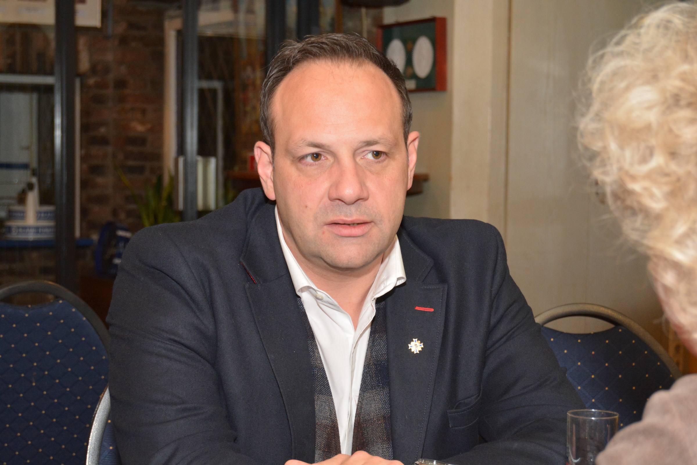 Björn Griesemann, Präsident der Blaue Funken