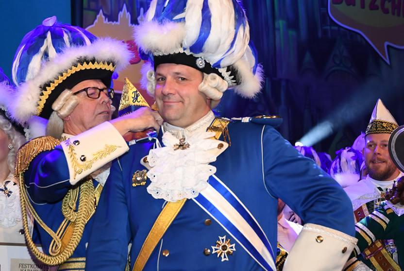 Blaue Funken Regimentsappell