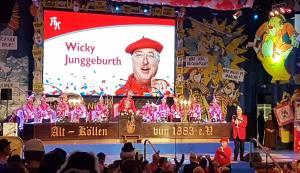 Wicky Junggeburth auf der Original Kölsch Sitzung der KKG Alt Köllen