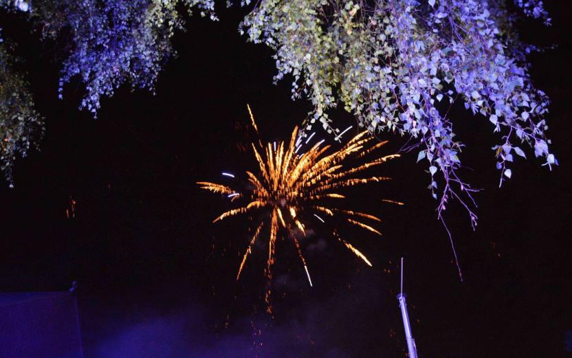 Feuerwerk Mauenheimer Muschele