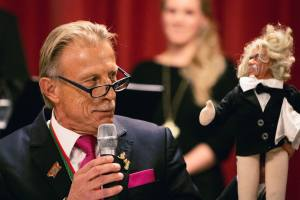 Christoph Daum bei der Große Allgemeine