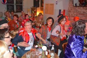 Franzosensitzung in der Brasserie aller Kolör
