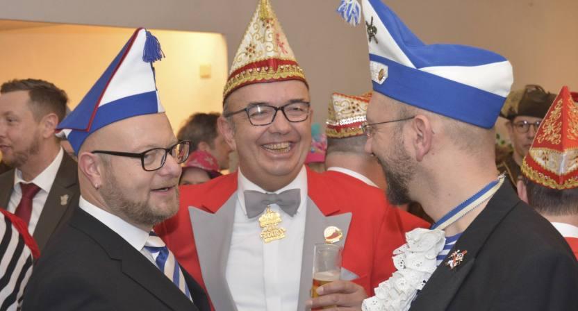 Kölsche Kippa Köpp Karnevalistischer Frühschoppen Falafel & Kölsch Synagoge BKB_8706