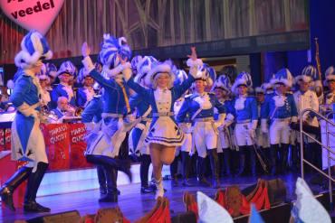 Regimentsappell Blaue Funken